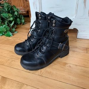 Harley Davidson Leather Riding Boots
